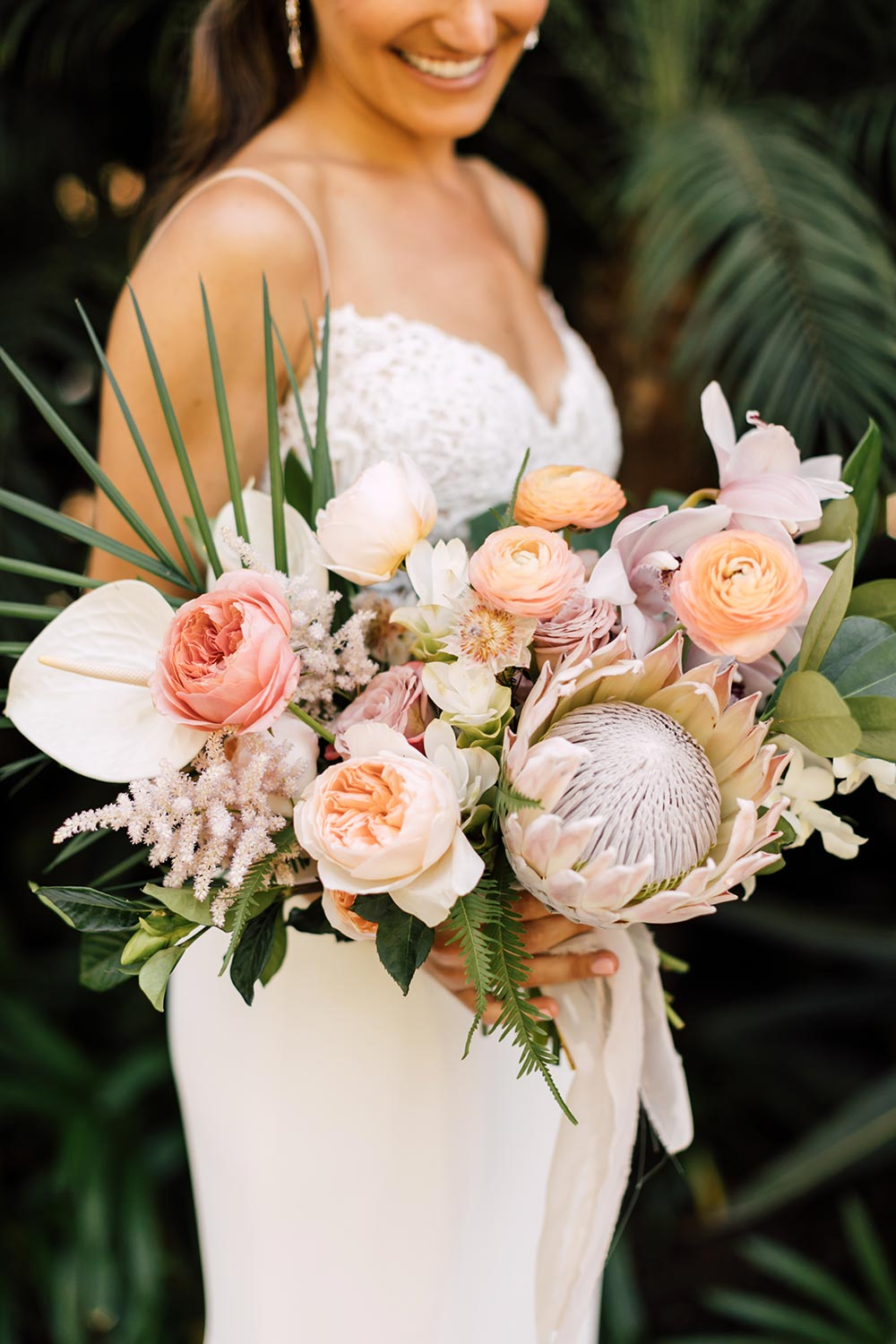 tropical wedding bouquet