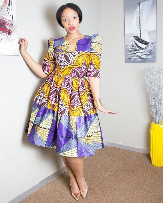 Kitenge-dresses-3 20 Best Kitenge Designs for Long Dresses 2018