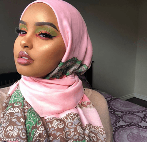 Artwork-Inspired-Look-500x483 Eid Makeup Tutorial-15 Perfect Makeup Ideas for Eid 2018