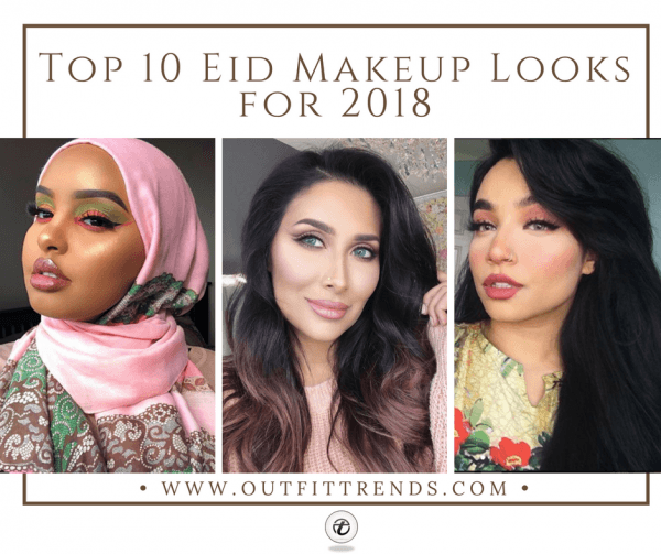 Makeup-Looks-for-Eid-2018-600x503 Eid Makeup Tutorial-15 Perfect Makeup Ideas for Eid 2018