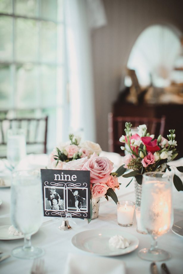 Wedding table number- Dani Leigh Photography