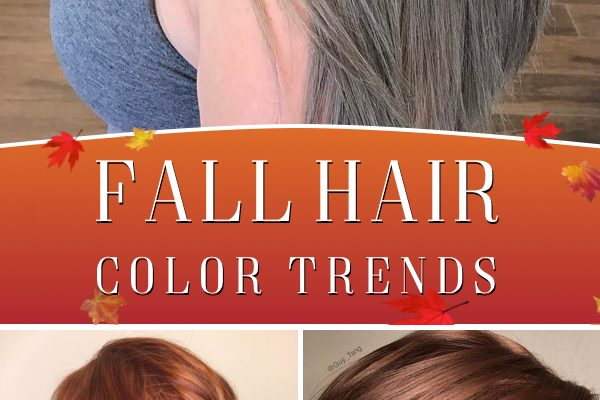 Fall Hair Color Trends 2018