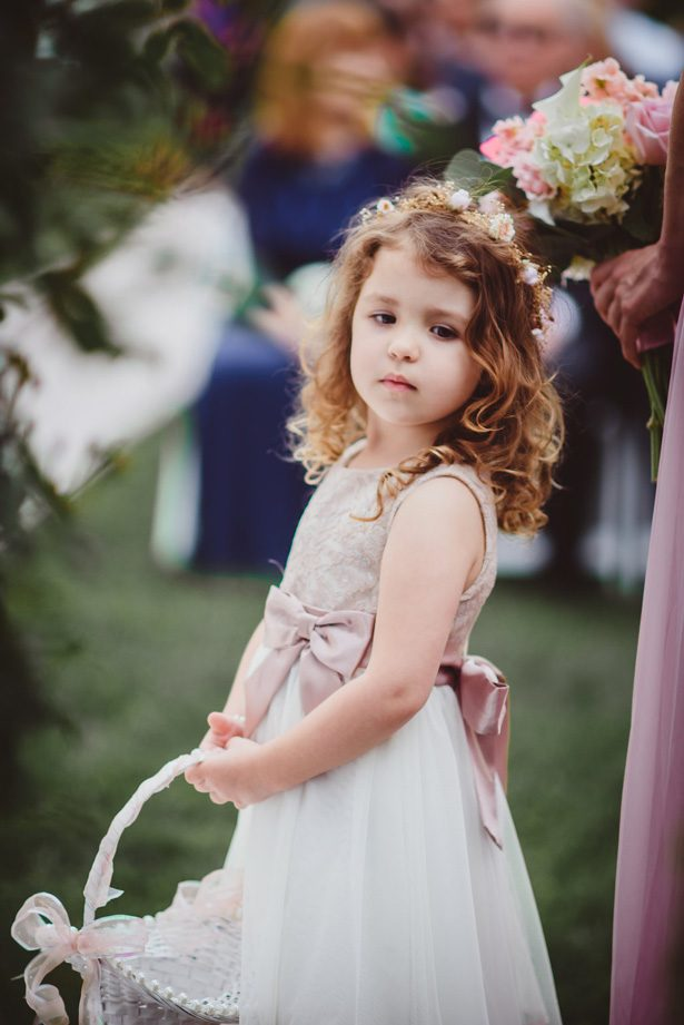 Wedding Flower girl dress- Dani Leigh Photography
