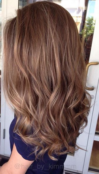 Best Warm Brunette Balayage