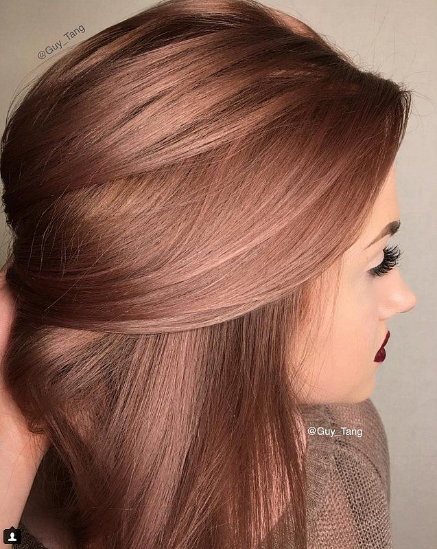 Rose Gold Is the Perfect Rainbow Hair Hue