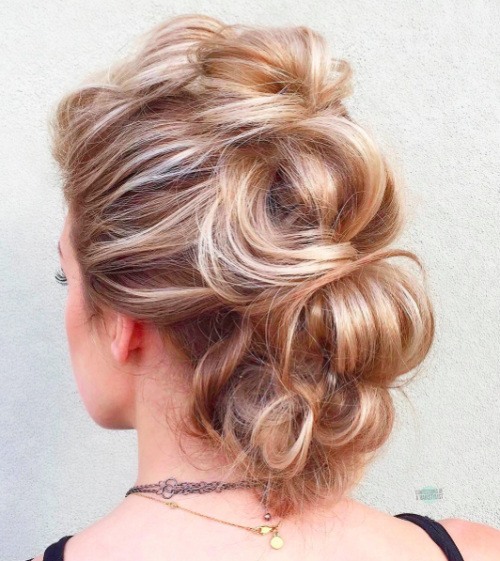 Updos for Long Hair 9