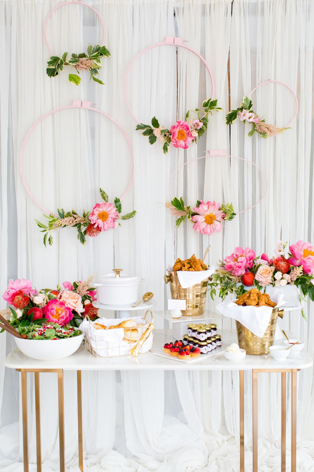 dessert display backdrop wedding decor