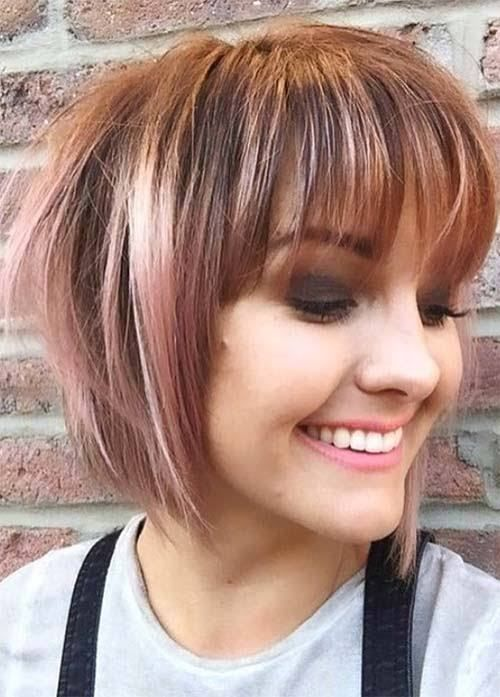 20 Short Hairstyles for Fat Faces and Double Chins 2020