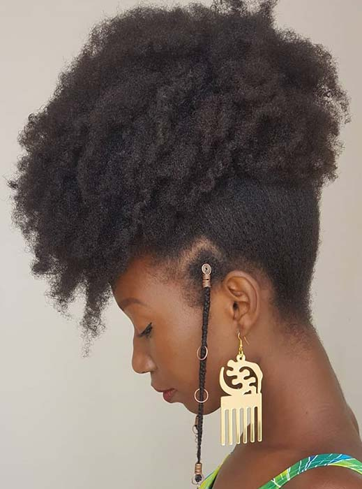 Cute Natural Hairstyle