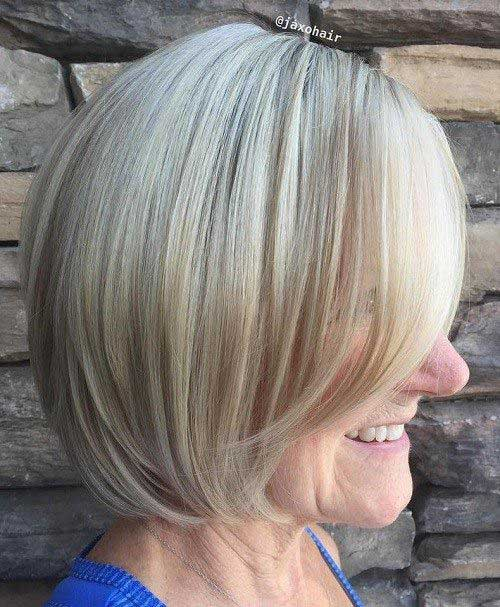 Short Hairstyles For 50 Year Old Women
