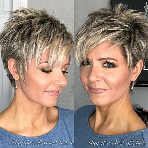 30 Best Short Hairstyles For Women Over 50 In 2020 Short Hair