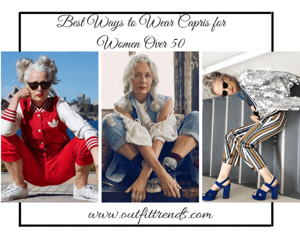 18 Outfit Ideas on How to Wear Capri for Women Over 50