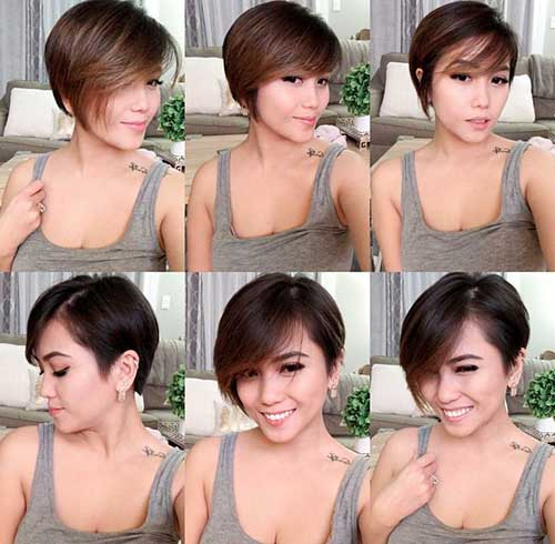 Very Short Hairstyles For Women With Thick Hair
